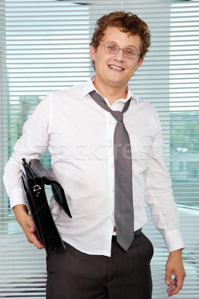 Sloppy businessman Stock photo © pressmaster