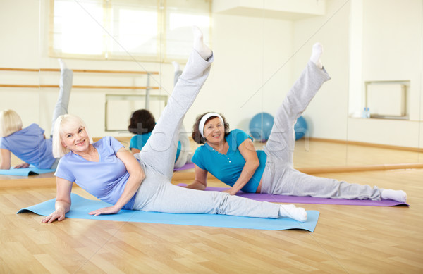 Stretching legs Stock photo © pressmaster