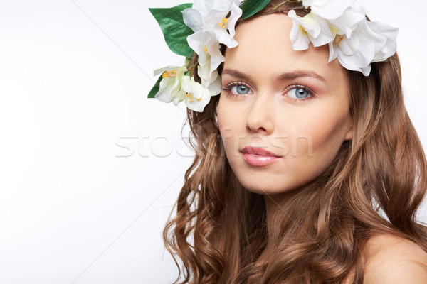 Spring hairstyle Stock photo © pressmaster