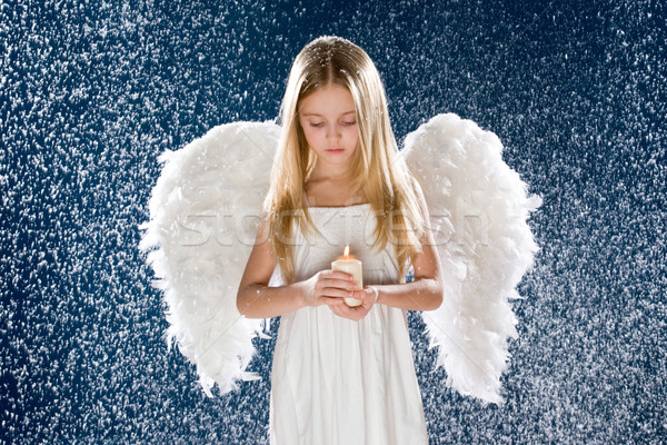 Sad angel Stock photo © pressmaster