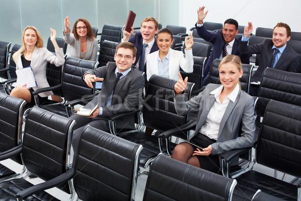 De trabajo seminario imagen gente de negocios sesión Foto stock © pressmaster