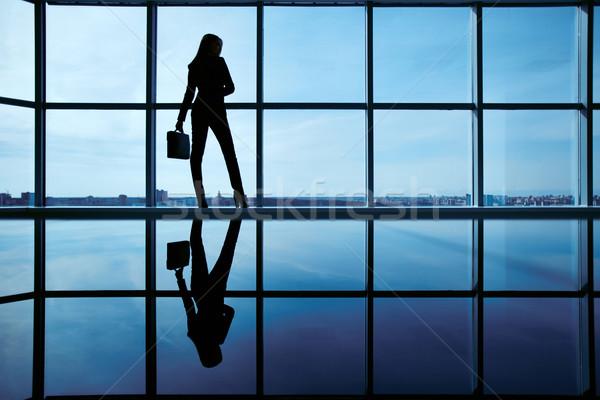 Businesswoman in office Stock photo © pressmaster