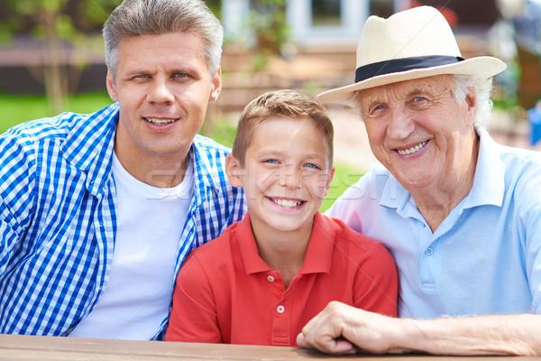 Three men Stock photo © pressmaster