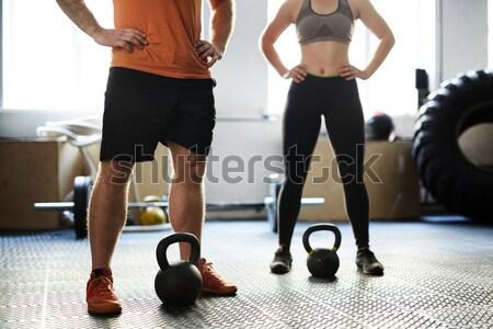 Slim legs Stock photo © pressmaster