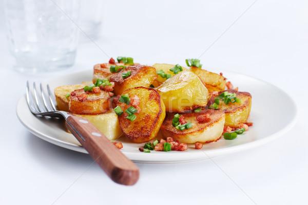 Fried potatoes Stock photo © pressmaster