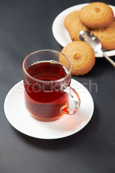 Tea with cookies Stock photo © pressmaster
