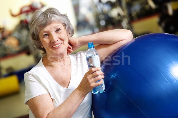 Woman refreshing Stock photo © pressmaster