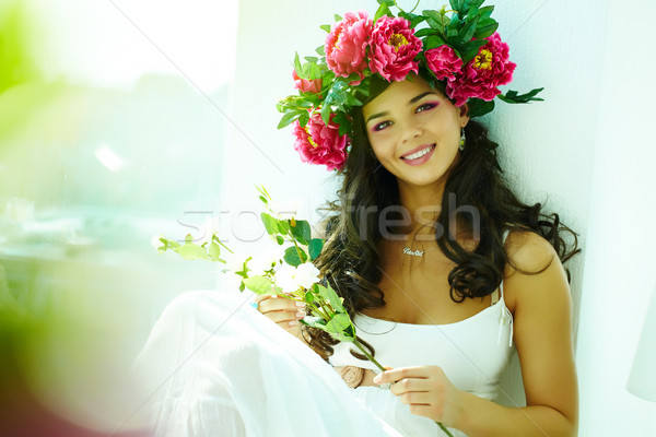 Happy woman Stock photo © pressmaster