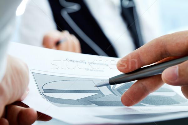 Scheme Stock photo © pressmaster