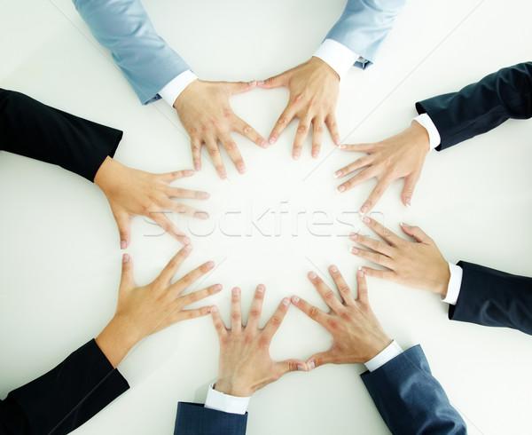 Hands of businesspeople Stock photo © pressmaster