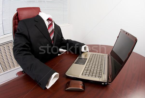 At workplace Stock photo © pressmaster