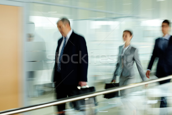 End of working day Stock photo © pressmaster