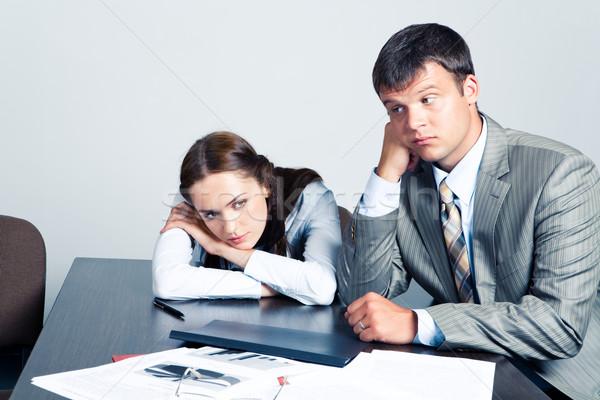 Pensive businesspeople  Stock photo © pressmaster