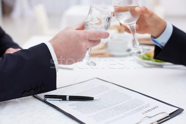 Drink success Stock photo © pressmaster