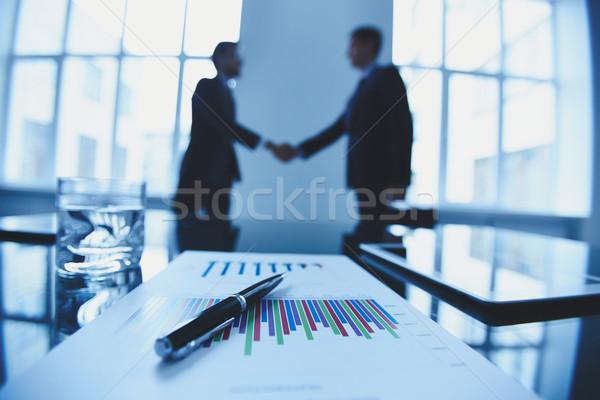 Pen on document Stock photo © pressmaster
