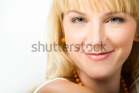 Blue-eyed spring Stock photo © pressmaster