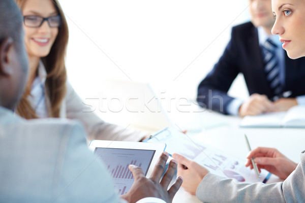Finding out strategy Stock photo © pressmaster
