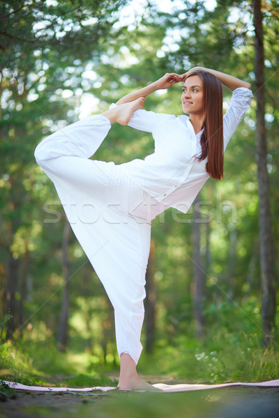 Flexible woman Stock photo © pressmaster