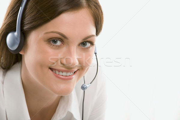 Customer support operator  Stock photo © pressmaster