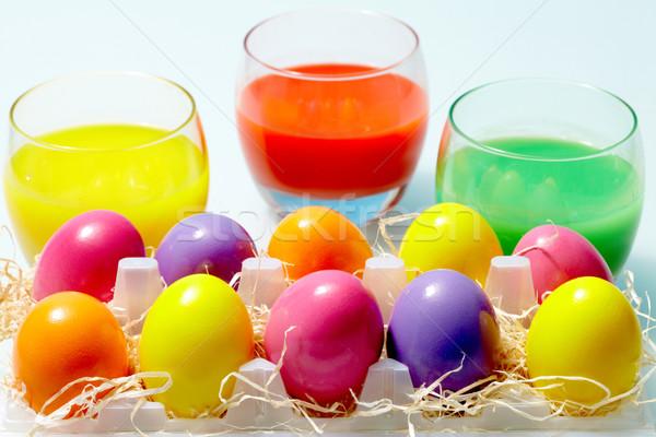 Easter aquarelle Stock photo © pressmaster