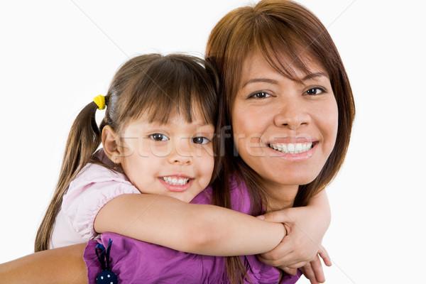 Zdjęcia stock: Szczęścia · cute · dziecko · piękna · matka