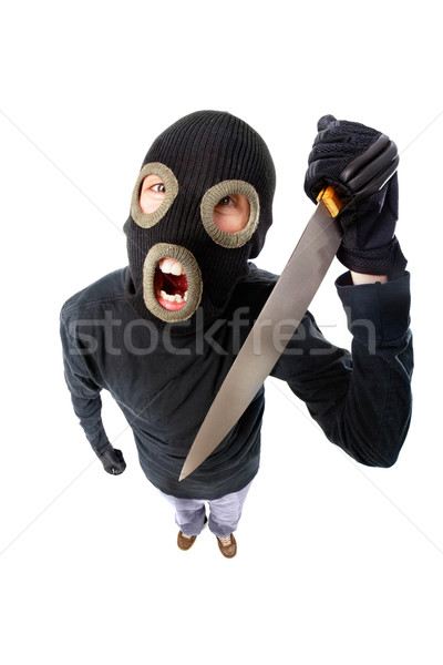 Aggressive terrorist Stock photo © pressmaster