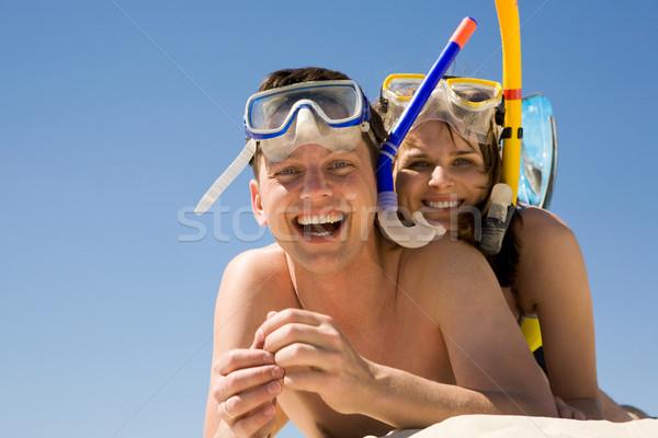Joyful couple Stock photo © pressmaster