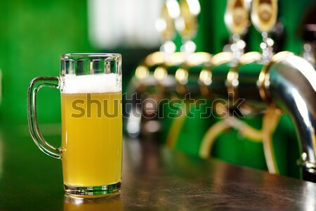 Beer pint Stock photo © pressmaster