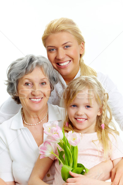 Family portrait  Stock photo © pressmaster