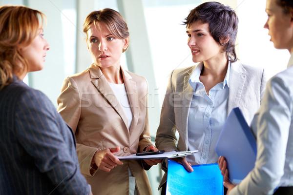 Concerned businesswoman Stock photo © pressmaster
