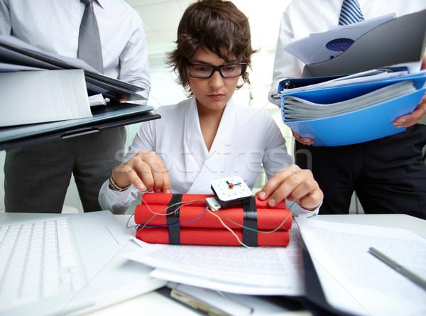 Experienced accountant Stock photo © pressmaster