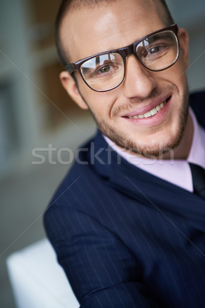 Smiling businessman Stock photo © pressmaster
