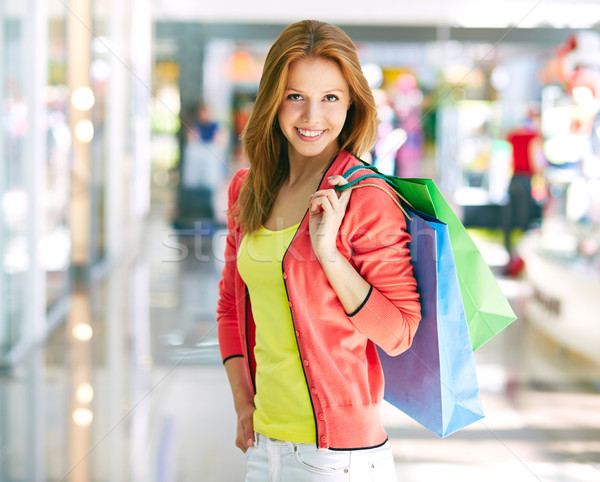 Successful shopping Stock photo © pressmaster