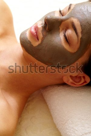 Purifying mask Stock photo © pressmaster