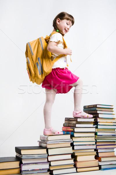 Clever schoolgirl Stock photo © pressmaster