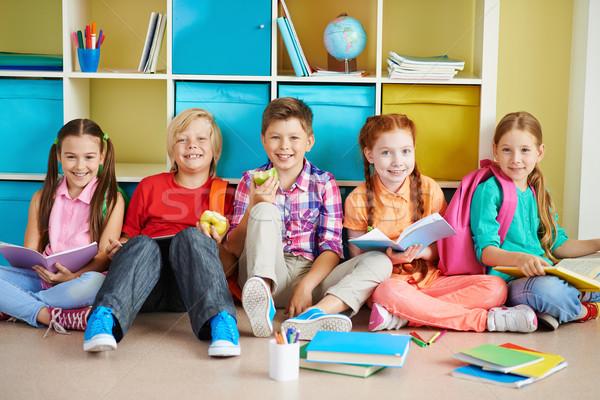 Group of classmates Stock photo © pressmaster
