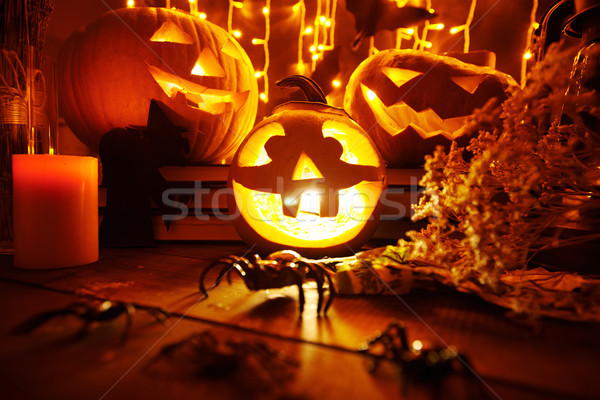 Halloween night Stock photo © pressmaster