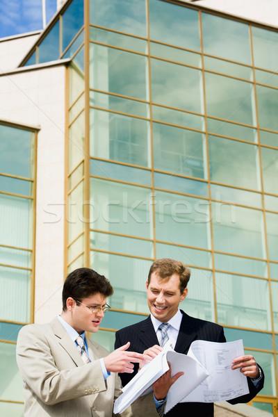 Redditizia business progetto imprenditore nuovo Foto d'archivio © pressmaster