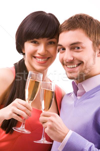 Celebrating couple Stock photo © pressmaster