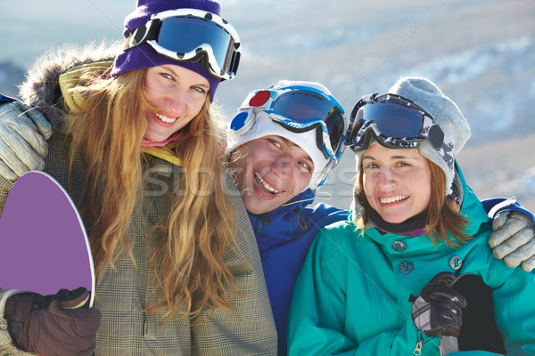 Happy teens Stock photo © pressmaster