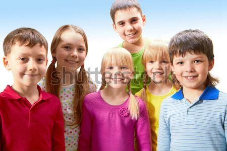Сток-фото: детский · фестиваля · портрет · улыбаясь · дети
