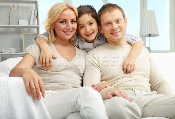 Family of three Stock photo © pressmaster