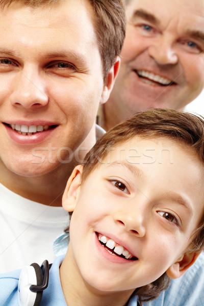 Happy son Stock photo © pressmaster