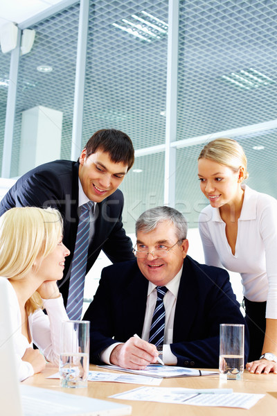 Stock photo: Meeting