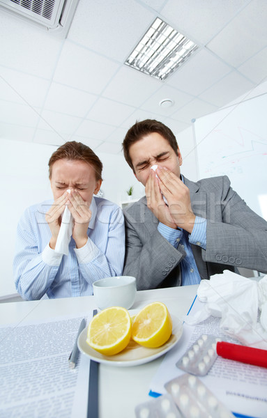 Photo stock: Malade · image · affaires · affaires