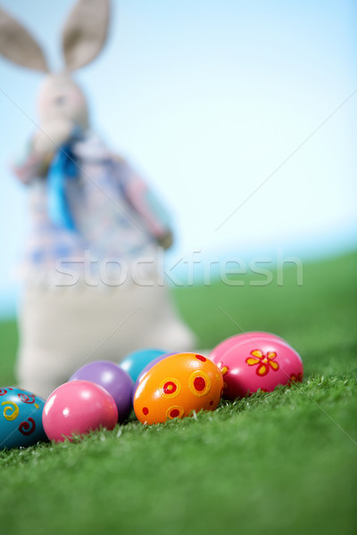 Easter eggs Stock photo © pressmaster