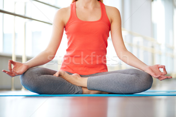 Relaxation exercise Stock photo © pressmaster
