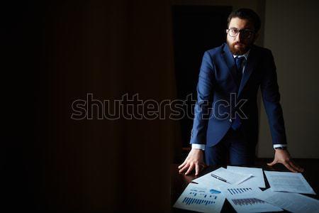 Night work Stock photo © pressmaster