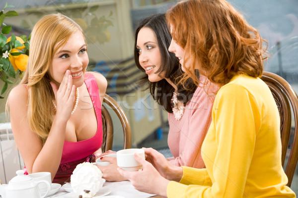 Gossip Stock photo © pressmaster