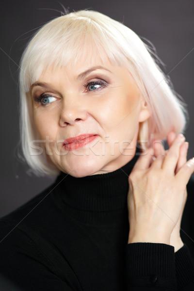 Aged woman Stock photo © pressmaster